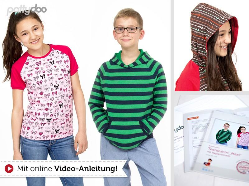 Hobbywelt Kreativshop | Schnittmuster Teenieshirt Maxi mit ...