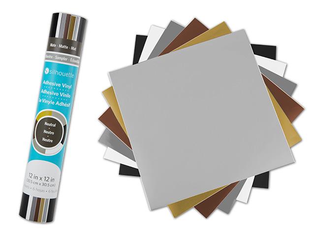 Hobbywelt Kreativshop | SIL Vinyl-Musterpack Neutral,Schwarz Weiß ...
