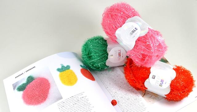 Hobbywelt Kreativshop Creative Bubble Häkelset Erdbeere Mit