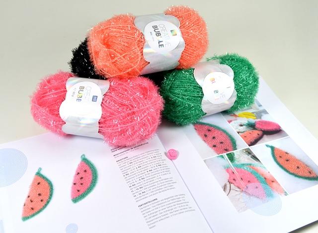 Hobbywelt Kreativshop Creative Bubble Häkelset Melone Mit
